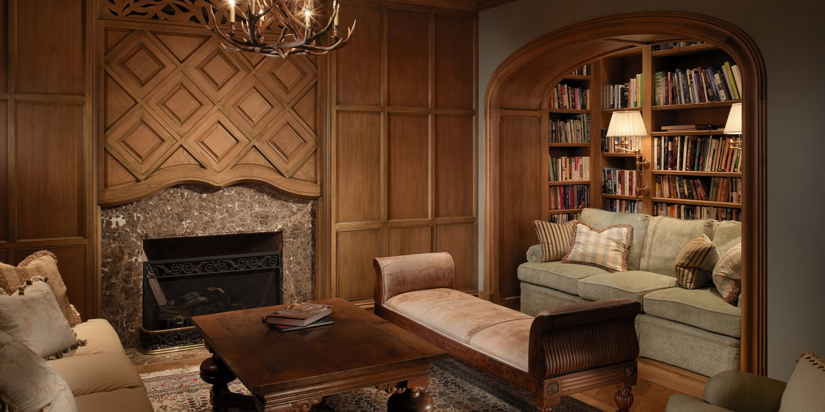 A living room designed by Young and Burton